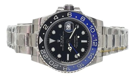 Relógio Eta - Modelo. Gmt Batman Sa3186 Aço 904 - Noob V9