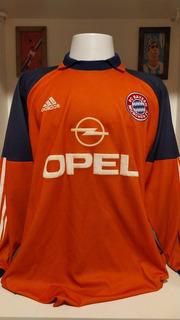 Camisa Futebol Bayern Munique Oliver Kahn