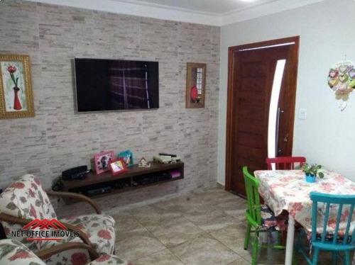 Casa Com 4 Dormitórios À Venda Por R$ 400.000,00 - Bosque Dos Eucaliptos - São José Dos Campos/sp - Ca0331