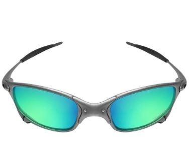 9c926a054 Oculos De Sol Oakley Juliet Com Lente Verde/roxa Barato - R$ 105,00 em Mercado  Livre