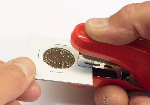 Coin Encanto Cuero Y Recogida De Moneda Bundle - Álbum Con L
