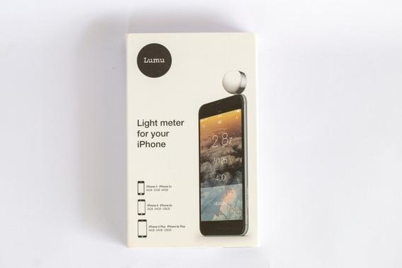 Lumu Light Meter Medidor De Luz Para iPhone Sensor Sekonic