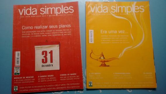 Revista Vida Simples (lote 6 Edições)