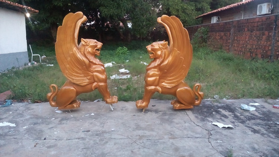 Escultura Jardim. Estátuas Personalizadas Sob Encomenda Leão