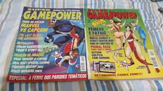 Revista Videogame Gamepower Playstation Sega Mega Drive