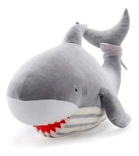 Adorable Peluche Felpa Almohada Tiburón Grande Shark