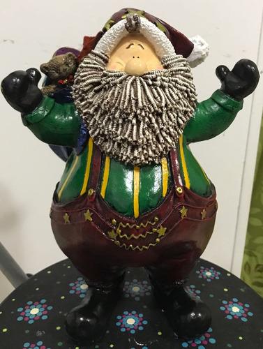 Papa Noel En Ceramica
