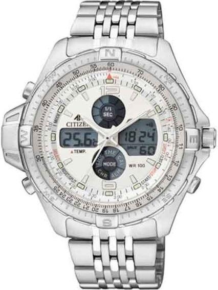 Relógio Citizen Combo Temp Promaster Js1046-55a / Tz10093q