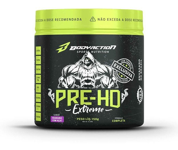 Pre-hd Extreme (150g) Bodyaction