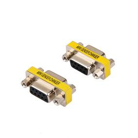 2pcs 9pin Rs232 Db9 Hembra A Hembra Cable De Serie Género A