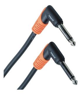 Cable Bespeco Plug Mono 90º A Plug Mono 90º 1 Metro Slpp100