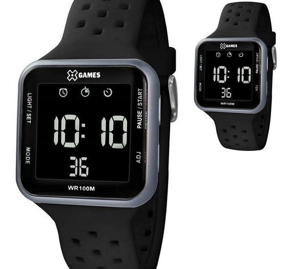 Relógio Xgames Digital Quadrado Original Modelo Xgppd091