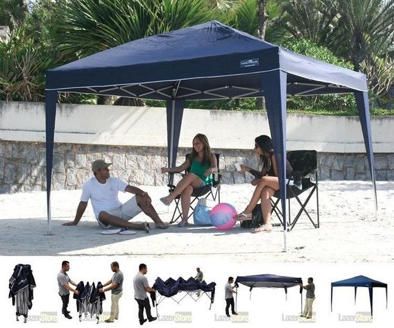 Tenda Gazebo Praia Sanfonada Trixx Nautika +1 Parede Lateral