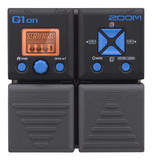 Pedal De Efectos De Guitarra Zoom G1on