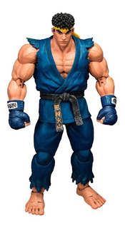 Street Fighter V - Ryu Blue 1/12 - Storm - Robot Negro