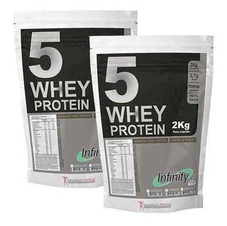 Whey Protein 5w 4 Kilos (2 Pacotes) Wey Isolado Frete Grátis