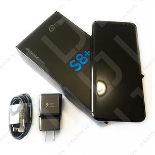 Samsung Galaxy S8+ Plus G955 Midnight 64gb (solo At&t Unefon). Celular Móvil.