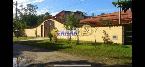 Imagem 1 de 9 de Chácara Com 3 Dorms, Itaguai, Mongaguá - R$ 400 Mil, Cod: 7254 - V7254