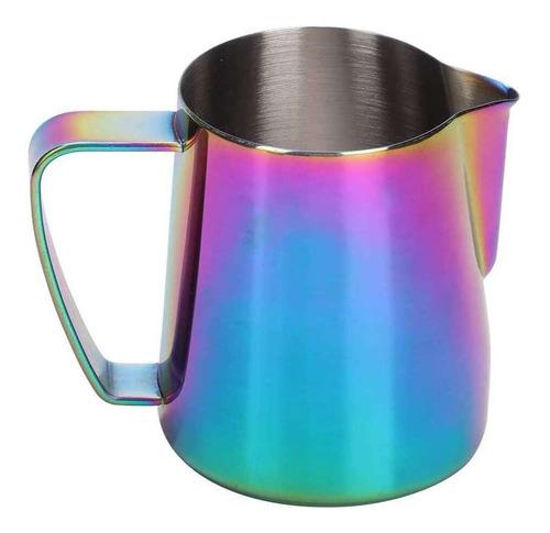 Lmell - Vaso De Espuma Para Leche (acero Inoxidable, Colores
