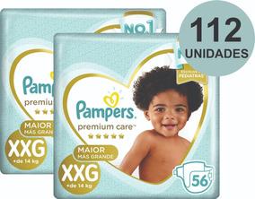 Kit Fraldas Pampers Premium Care M, G, Xg Ou Xxg - Oferta!