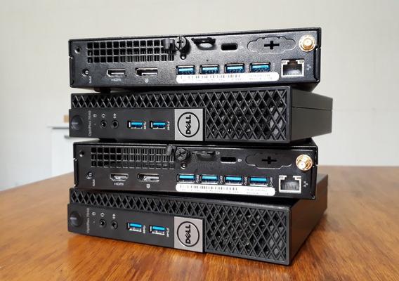 Computador Dell Minidesk 7040 I5 Pro 8gb Ssd120gb Win10pro