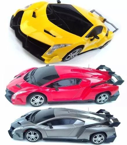 Carrinho De Controle Remoto Rápido A Pilha Ferrari Lamborg