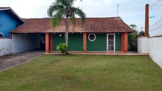 Casa Com Terreno Medindo 460 Metros Lado Praia Itanhaém Sp