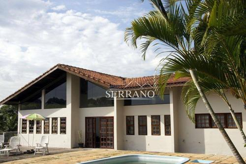 Imagem 1 de 10 de Casa Com 5 Dormitórios, 700 M² - Venda Por R$ 1.990.000,00 Ou Aluguel Por R$ 7.000,00/mês - Condomínio Chácaras Do Lago - Vinhedo/sp - Ca0063
