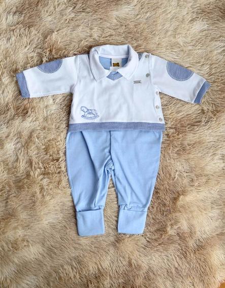 Macacão Longo Para Bebê, Menino, Pronta Entrega