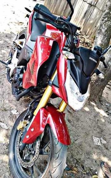 Moto Honda Cb190 Color Rojo