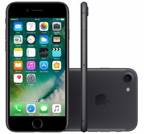 Celular iPhone 7 32gb Preto 4g Tela 4.7 - Câm. 12mp