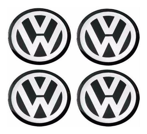 Emblema Volkswagen Botom Calota Ou Roda Resinado 68m Ou 70mm