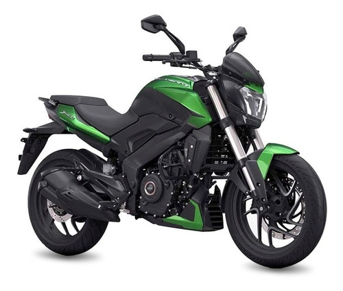 Moto Bajaj Dominar New 400 12 Sin Interes 0km 2021 Verde
