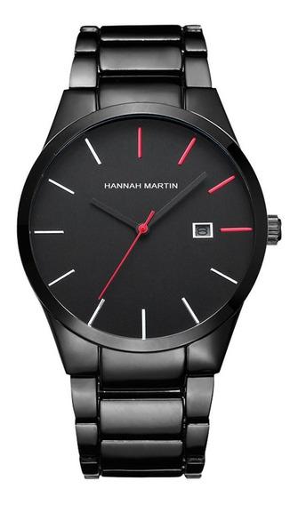 Hm-17551 Calendário Casual Relógios Para Homens Masculino Sl