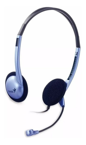 Auriculares Genius HS-02B azul