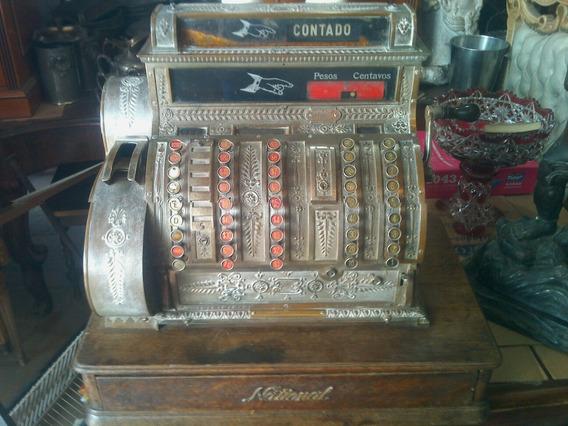 Maquina Registradora Antigua - National Cash Register U.s.a