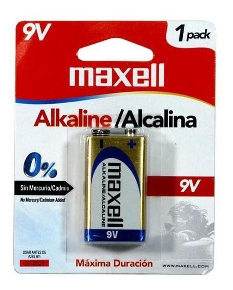 Bateria Maxell Alcalina 9v