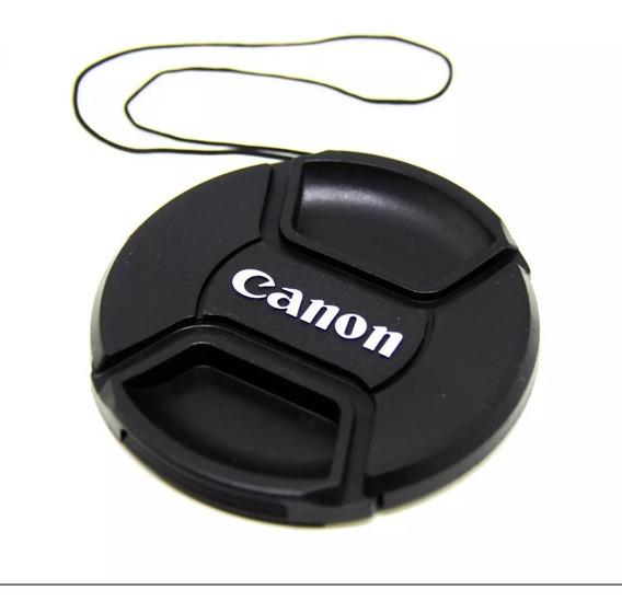 Tampa Frontal Para Lente Canon 58mm Oferta