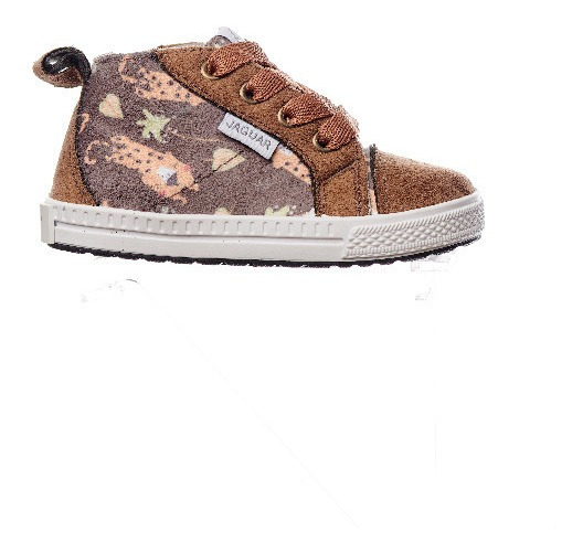Zapatilla Jaguar Kids 272 Marron Talle 17 18 19 20 21 Botita