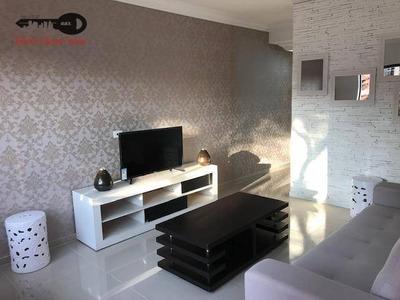 Sobrado Com 2 Dormitórios À Venda, 202 M² Por R$ 569.000 - Vila Pires - Santo André/sp - So0007