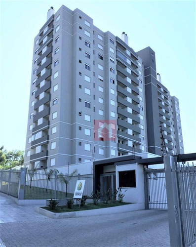 Apartamento Novo Com 2 Dormitórios À Venda, 56 M² Por R$ 190.000 - Santa Catarina - Caxias Do Sul/rs - Ap1981