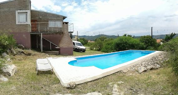 Casa Carlos Paz Bº Cerrado Lago Azul Pileta 9x4 Enero Disp