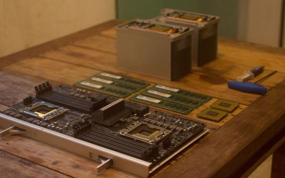 Bandeja Processador Mac Pro 5.1 / 2 X 6 Cores / Logic Board