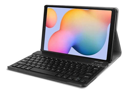 Funda C/teclado Compatible Samsung  Tab S6 Lite 2020 Sm-p610