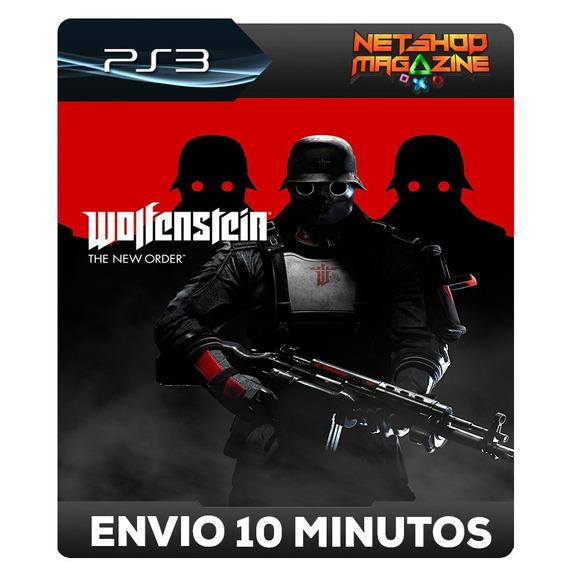 Wolfenstein: The New Order - Psn Ps3 - Pronta Entrega