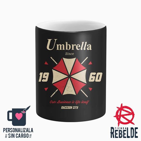 Taza Plastica - Umbrella Resident Evil 1960