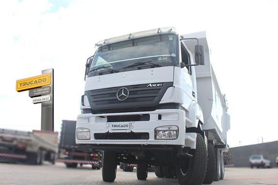 Bi-truck 8x4 Mb 4144 Caçamba Pastre = Noma Facchini Rodo
