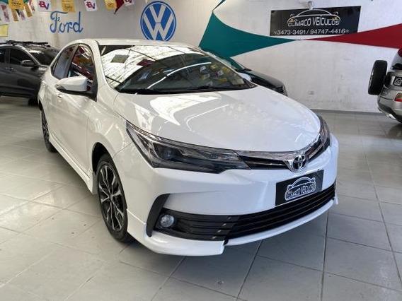 Corolla Xrs 2.0 Flex Automatico Completo 2018 Impecavel !!