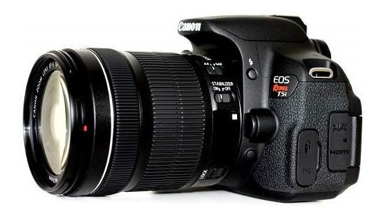 Máquina Fotográfica Canon T3i 18-135 Eos Rebel