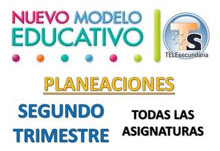 Planeaciones Telesecundaria Primer Grado Trimestre 2